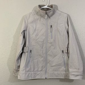 Free Country Lite Gray Lined Jacket size L
